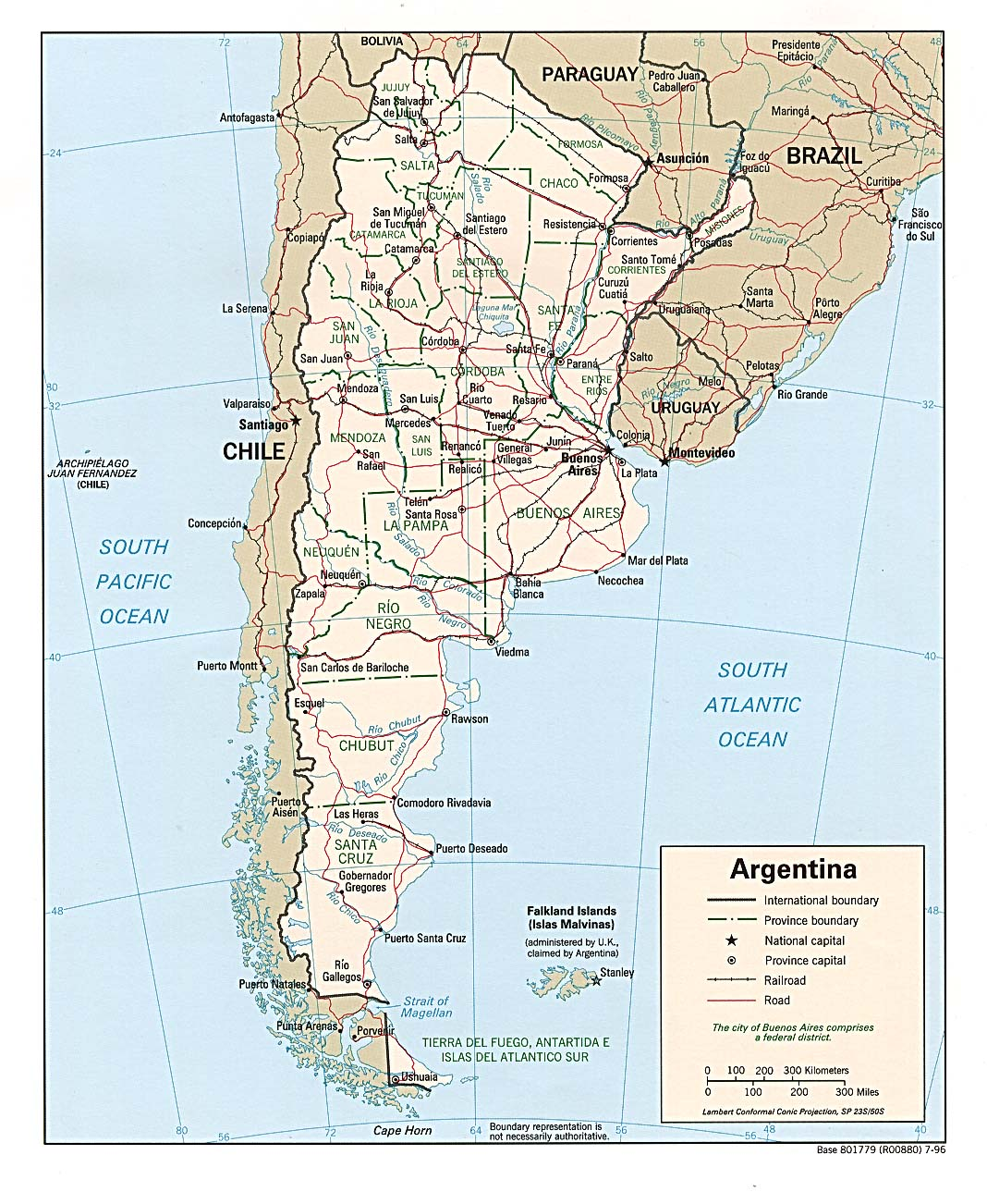 WPS Port Of Zarate Contact Information - Zarate argentina map