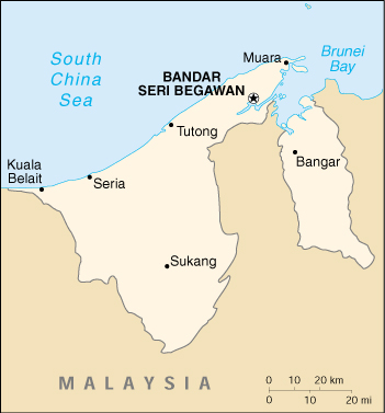 ... Port of Muara Satellite Map Contact Information Shipping Port of Call