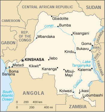 WPS   Port of Boma satellite map