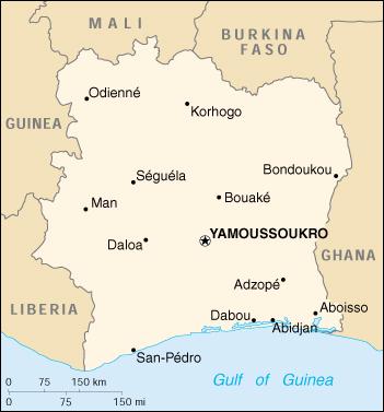 Wps Port Of Abidjan Satellite Map