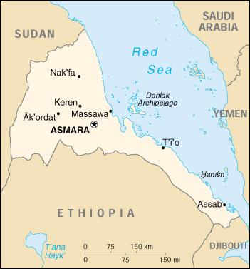 WPS Port of Massawa satellite map