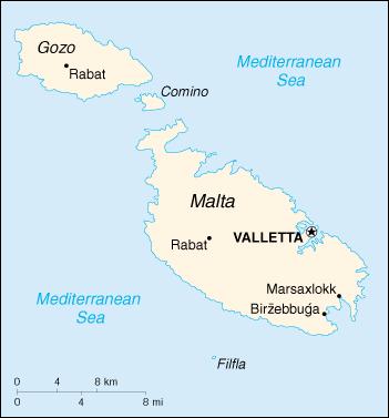 Wps Port Of Valletta Satellite Map