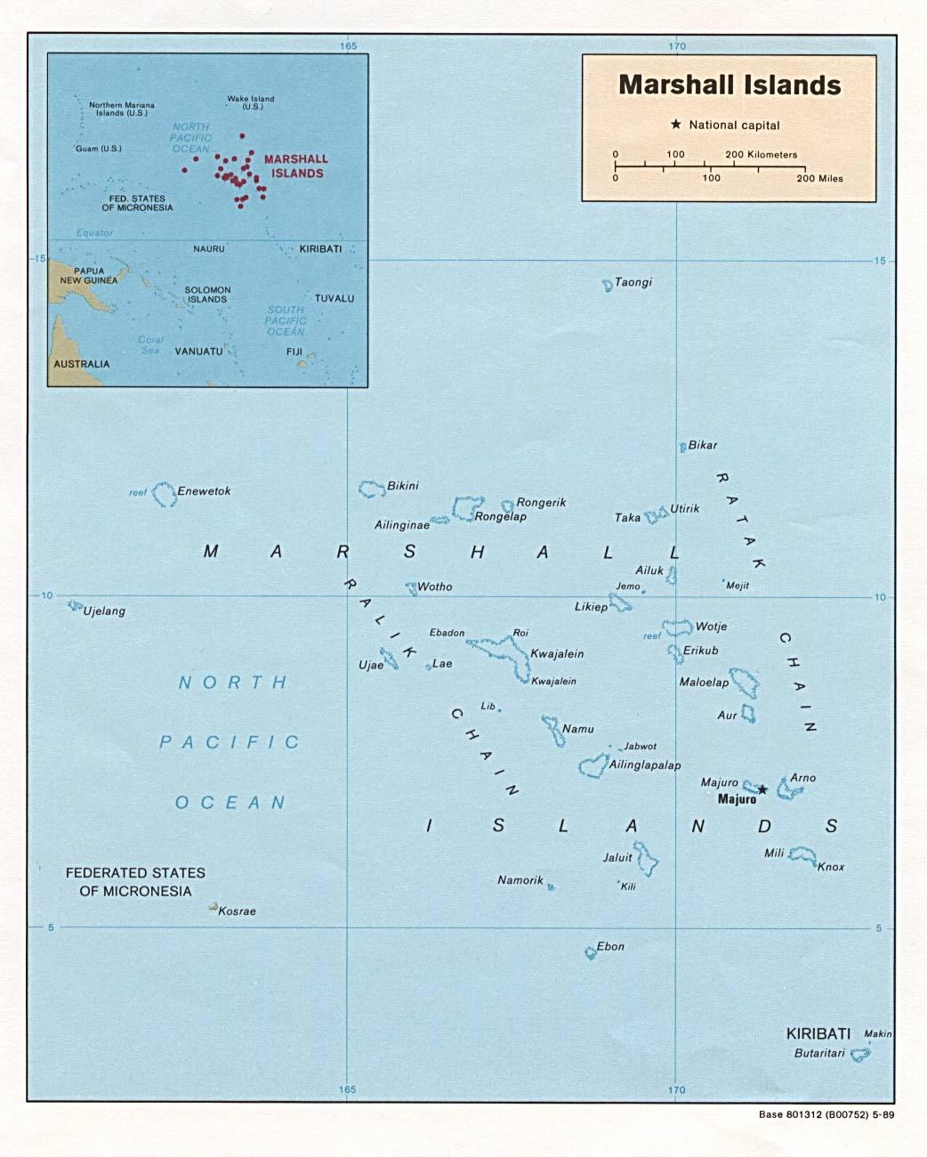 WPS Port of Majuro satellite map
