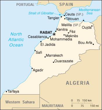 WPS Port of Mohammedia satellite map