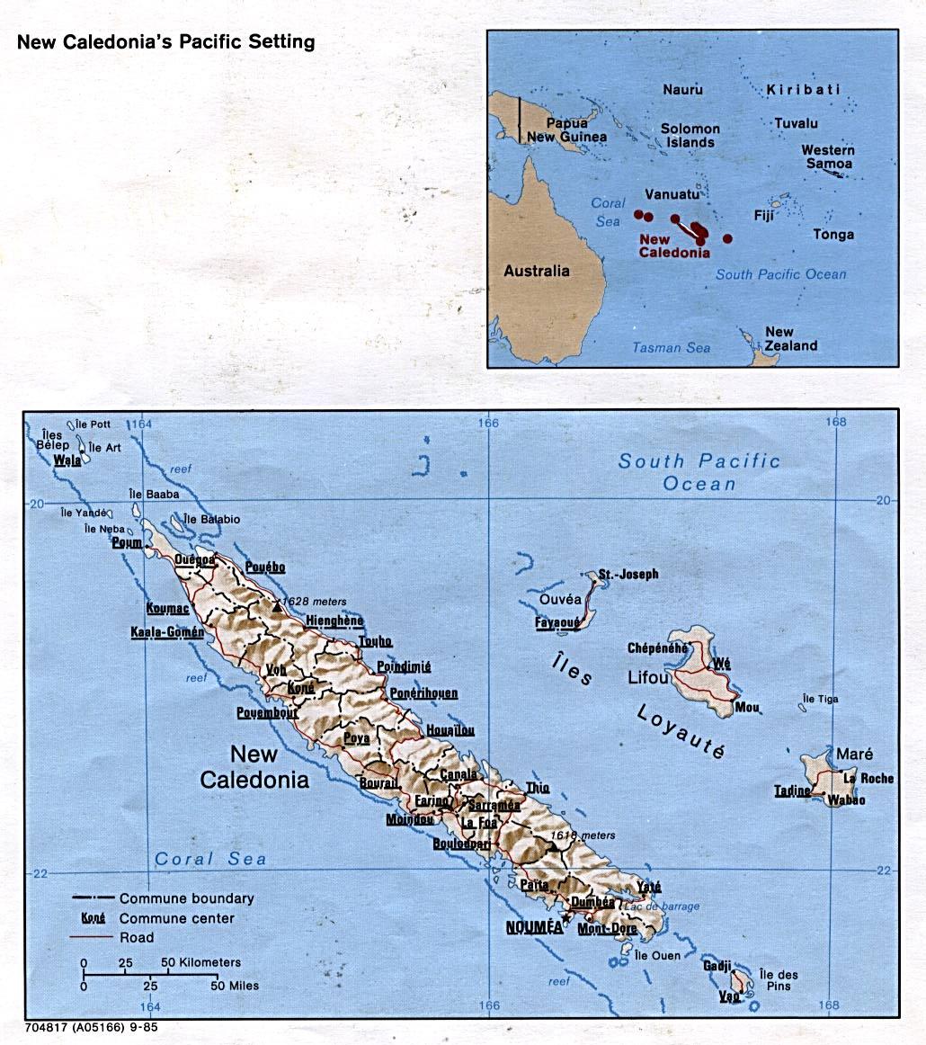 WPS Port of Noumea satellite map