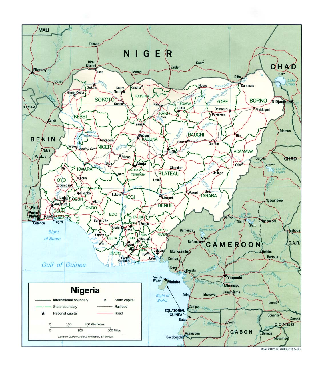Nigeria Cartina Africa.Wps Tin Can Island Port Tcip Contact Information