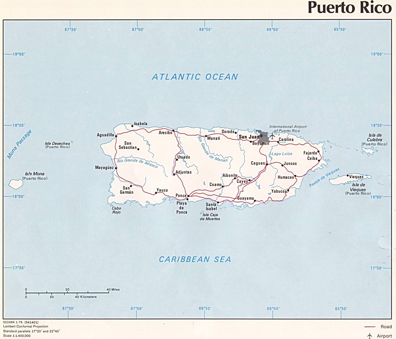 map of arecibo puerto rico Wps Port Of Arecibo Local View map of arecibo puerto rico