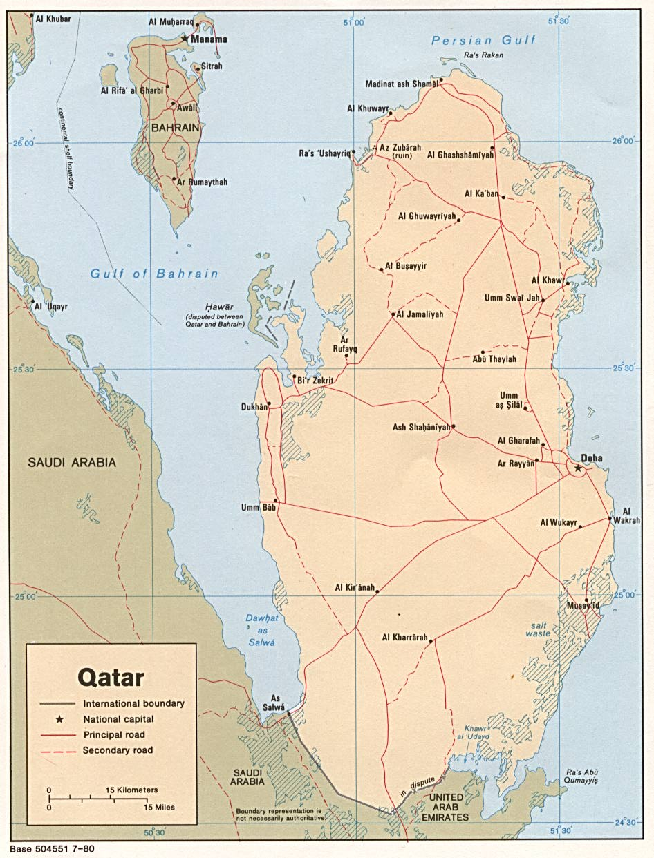 WPS  Port of Mesaieed satellite map