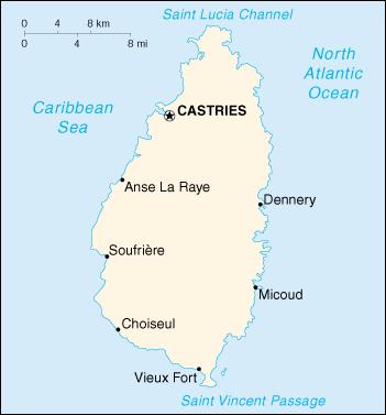 WPS Port of VieuxFort satellite map