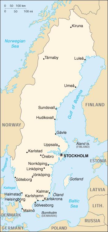 WPS Port of Helsingborg satellite map