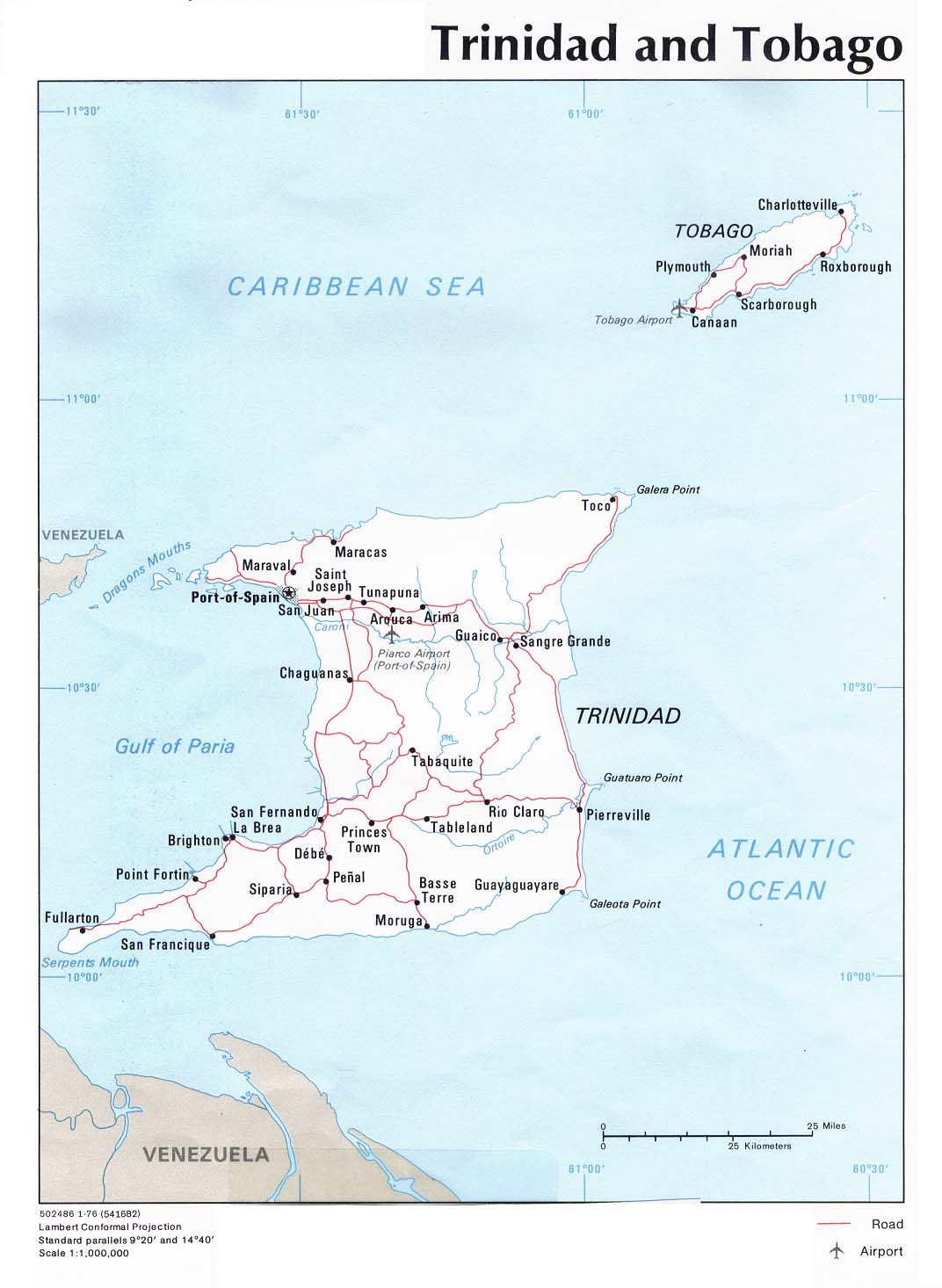 WPS Port Of Point Lisas Satellite Map - Trinidad map