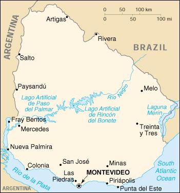 Wps Puerto De Nueva Palmira Satellite Map