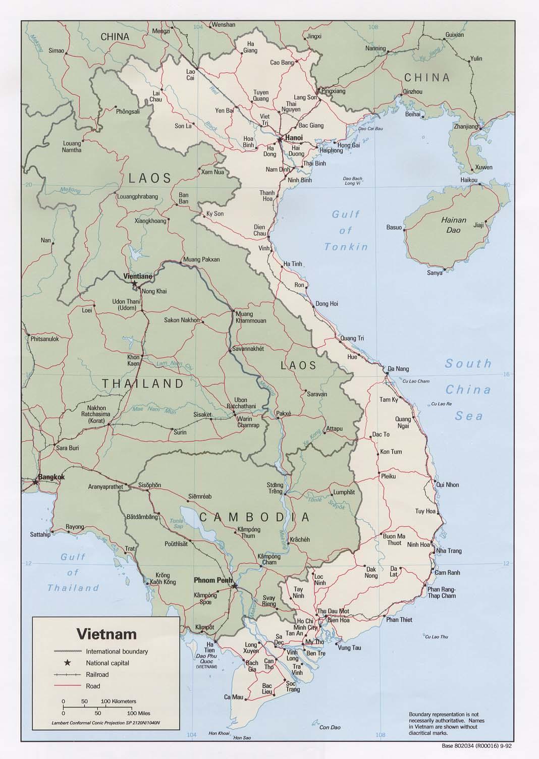 WPS Quang Ninh Port Contact Information - Longitude and latitude of vietnam