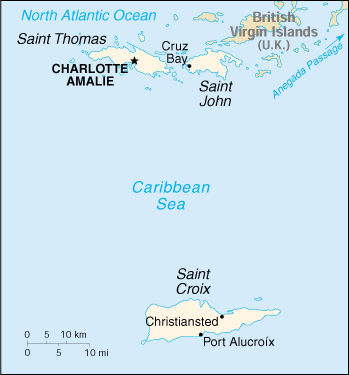 WPS - Charlotte Amalie Harbor satellite map