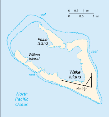 Wps Port Of Midway Island Satellite Map