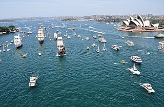 Australia Day 2010<br>Sydney Harbour