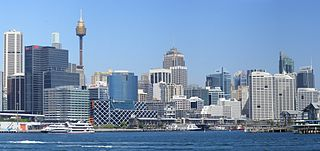 Sydney and Darling Harbour
