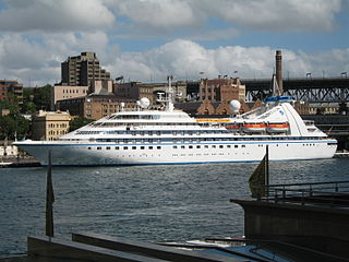 The Seabourn Spirit<br>Sydney Cove, Sydney