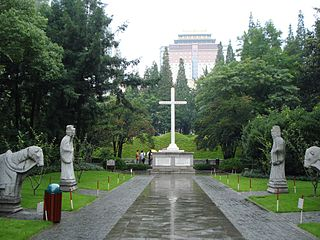Tomb of Paul Xu Guangqi