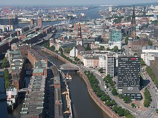 Hamburg<br>Viewed from a height of 150 meters