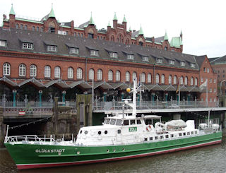 Customs ship <i>Gluckstadt</i><br>Deutsches Zollmuseum, Hamburg