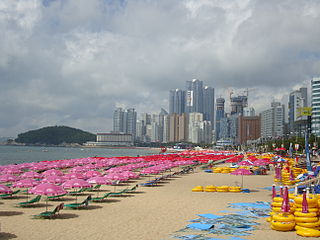 August Afternoon in Haeundae<br>Busan