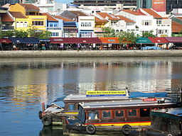 Bumboats<br>Boat Quay Singapore
