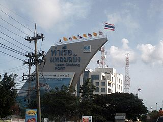 Entrance to Laem Chabang Port