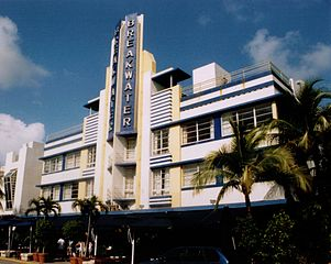 Breakwater Hotel<br>Miami Beach Art Deco District