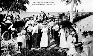 Opening of Collins Bridge<br>June 12, 1913