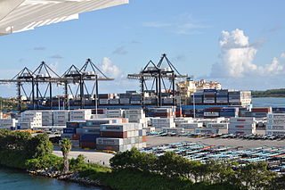 Container Terminal<br>Port of Miami