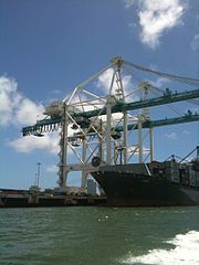 Gantry cranes<br>Port of Miami