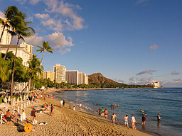 Diamond Head<br>View from Waikiki Beach