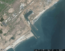 WPS - Port of Gopalpur satellite map