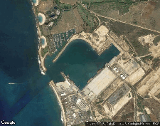 Wps Kalaeloa Barbers Point Harbor Oahu Satellite Map