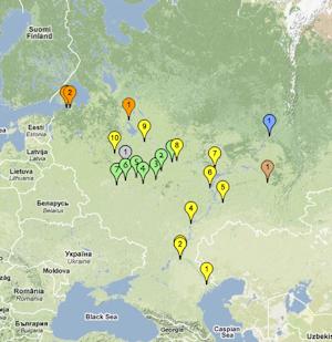 WPS Home Page - World waterways map
